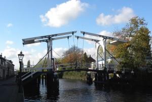 Zugbrücke in Leiden