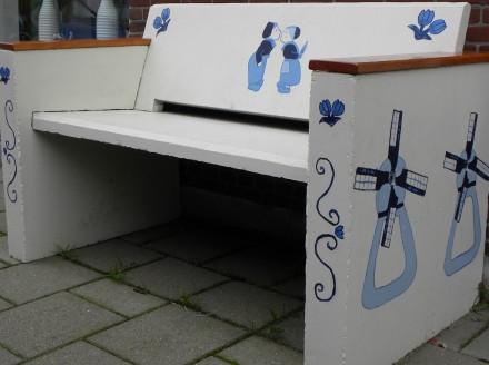 Delft blauen Bank