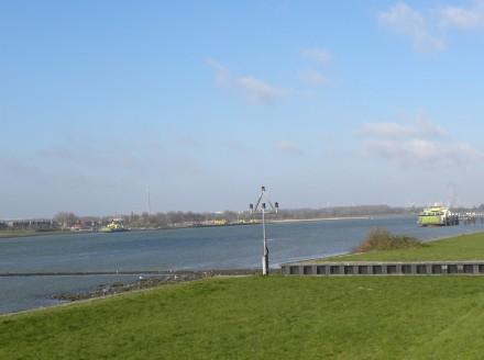 The river Nieuwe Waterweg