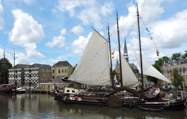 Open air Maritime Museum in Gouda