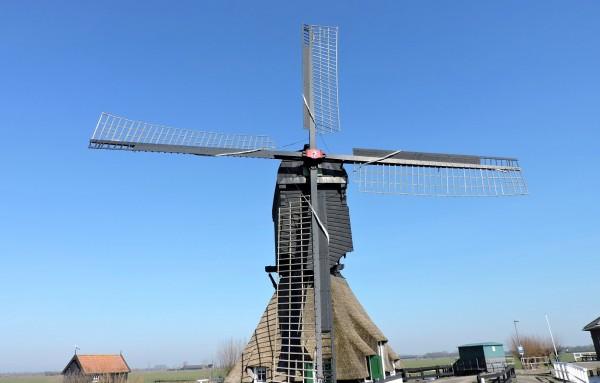 Windmühle in Nieuwpoort