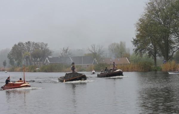 den Fluss Amstel