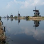 The windmills of Kinderdijk an Unesco Worldsite